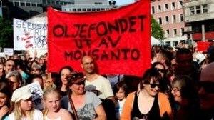 Monsanto Mars Oslo 25 May 2013 (VIDEO med APPELLER)